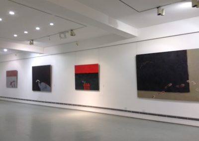 'Abandoned Field', Installation view 3