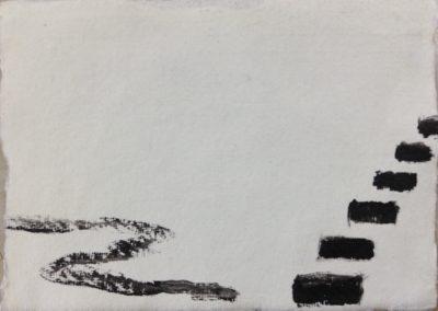 Away, 11x15cm, acrylic on paper