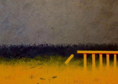 Breakdown. Oil on canvas. 76x102cm