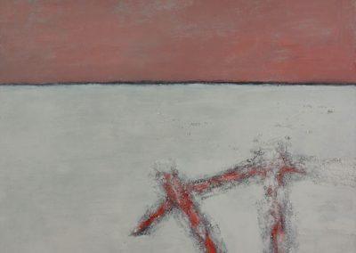 Broken 2. Oil on canvas. 100x150cm
