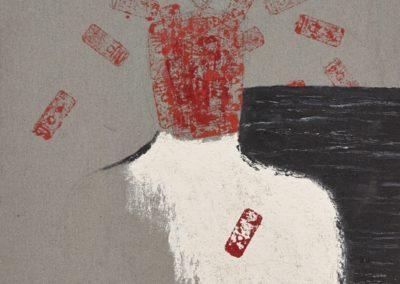 Explosion. Oil on canvas. 100x80cm.
