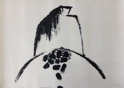 Fall. Acrylic on paper. 78x109cm.