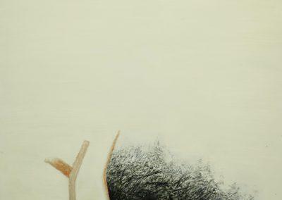Gaze. Oil on canvas. 76x102cm