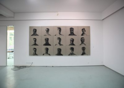 Heads, installation view