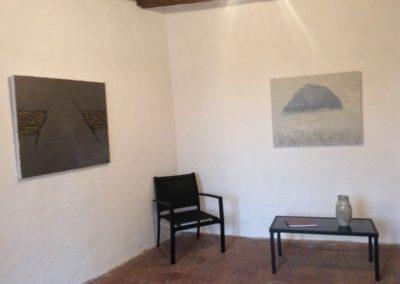 Installation view 2. La Metisse d'Argile exhibition. 2017