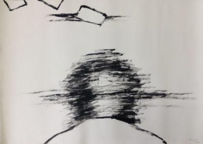 Mirage. Acrylic on paper. 78x109cm.