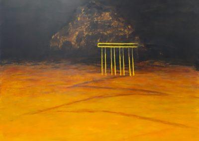 Mirage. Oil on canvas 150x180cm.