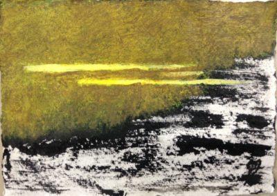 Mists, 11x15cm, acrylic on paper.