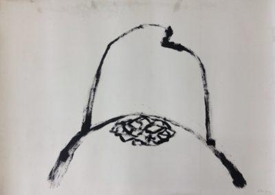 Mountain. Acrylic on paper. 78x109cm.