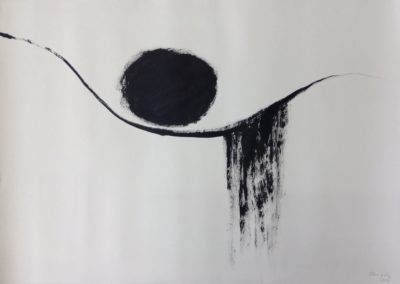 Rest. Acrylic on paper. 78x109cm.