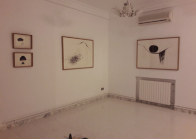 'Shifting Spaces', Tunis, 2018. Installation view 3